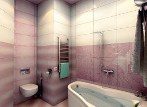 интерьер ванной совмещенной с туалетом фото