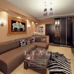 Современный дизайн гостиной фото