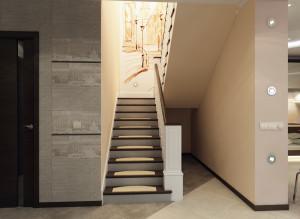 Интерьер лестницы фото