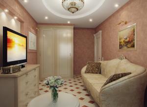 интерьер тв зоны в гостиной фото