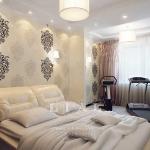 Дизайн современной спальни фото в светлых тонах