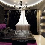 Дизайн стильной спальни, фото 2016