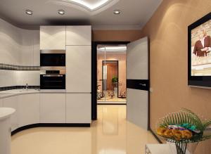 Фото современной кухни в светлых тонах