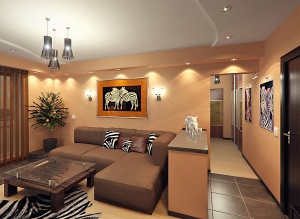 Современные идеи дизайна гостиной фото