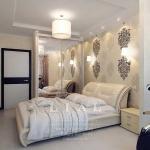 Идеи дизайна стильной спальни фото в светлых тонах