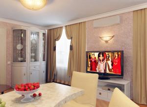 Дизайн стильной гостиной фото