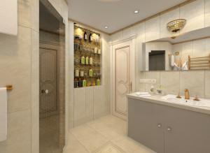 интерьер ванной комнаты совмещенной с туалетом фото
