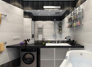 Дизайн санузла со стиральной машиной