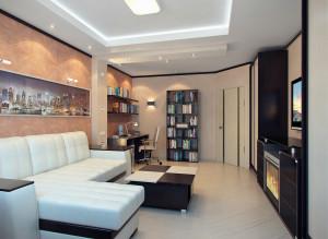 Стильная гостиная фото дизайна