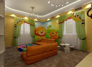 Современные идеи дизайна детской комнаты фото