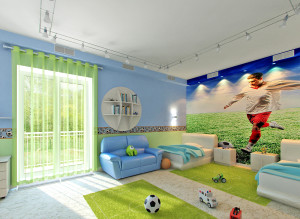 Идеи дизайна детской комнаты для мальчика