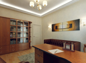Дизайн стильного кабинета