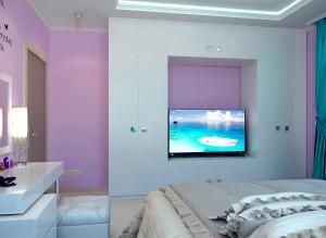Стильный дизайн спальни в современном стиле