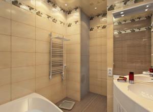 Дизайн стильной ванной комнаты фото 2016