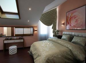 Дизайн стильной спальни