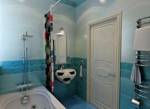 Дизайн ванной комнаты для мальчика