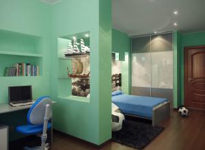 Идеи дизайна стильной детской комнаты для мальчика