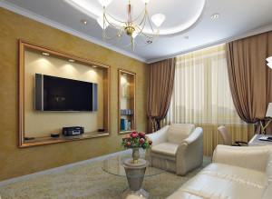 Стильный дизайн гостиной фото идеи