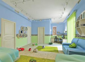 Современные идеи дизайна детской комнаты для мальчика
