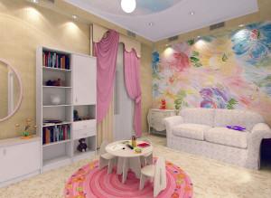 Дизайн детской комнаты для девочки фото 2016 современные идеи