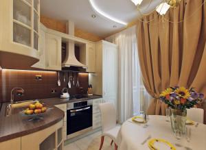 Дизайн интерьера кухни. Фото 2016