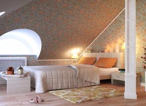 Стильный дизайн спальни фото