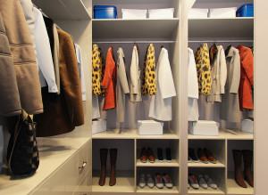 Дизайн стильной гардеробной