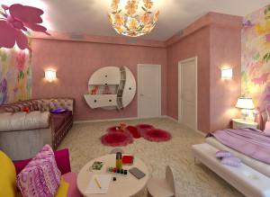 Идеи дизайна детской комнаты для девочки фото 2016