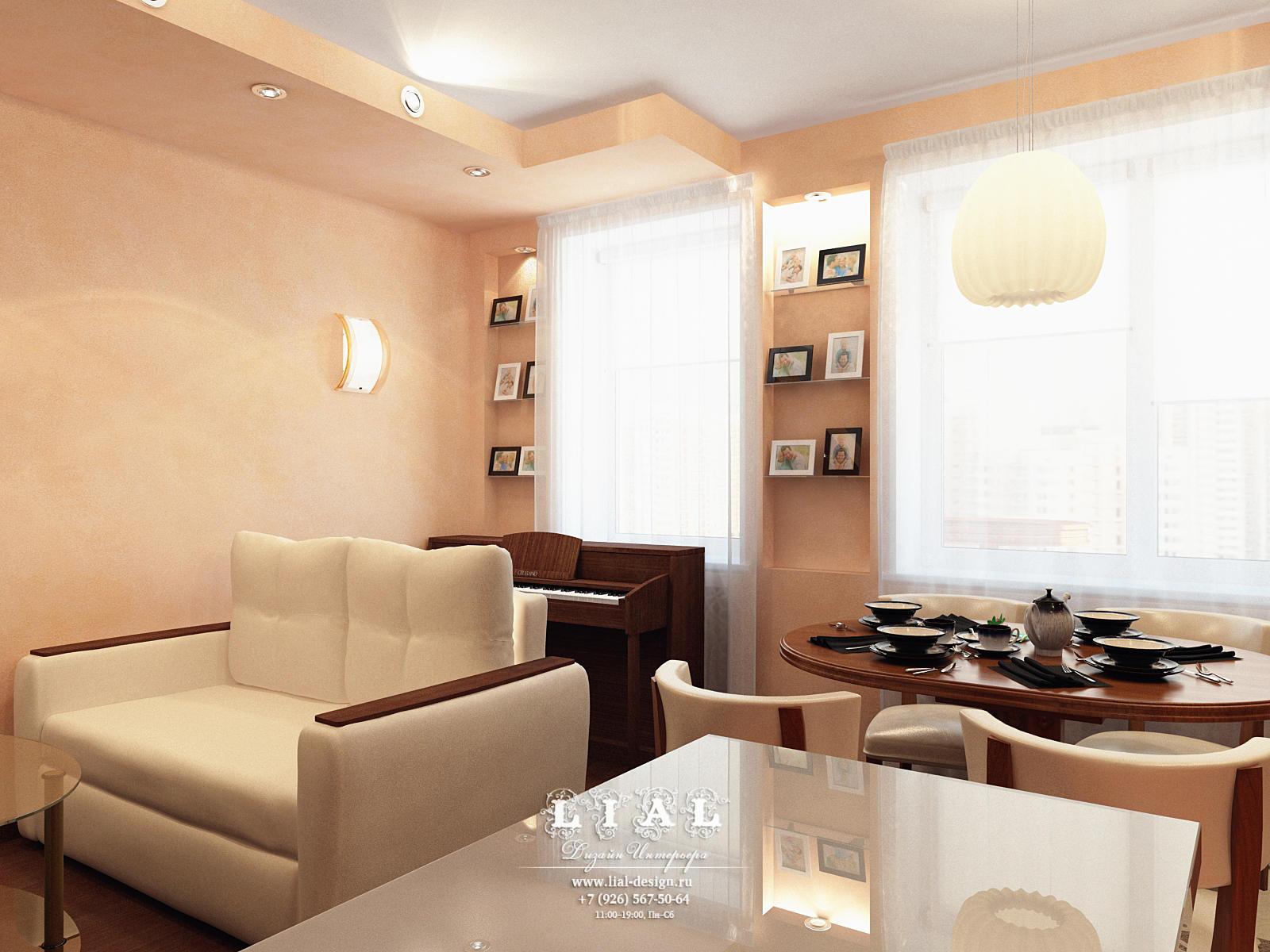 Современные идеи дизайна бежевой гостиной: фото