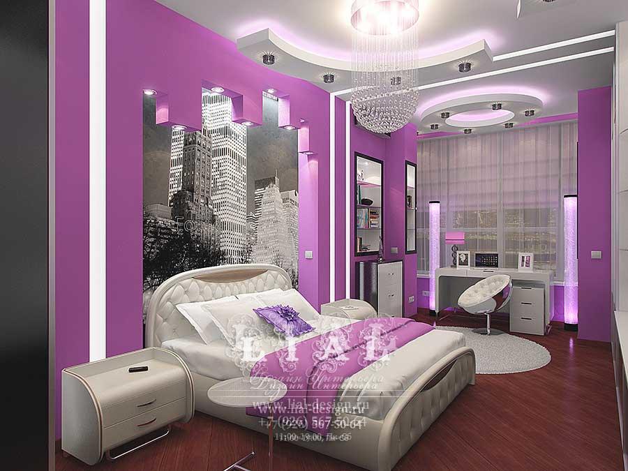Дизайн современной яркой спальни: фото 2016