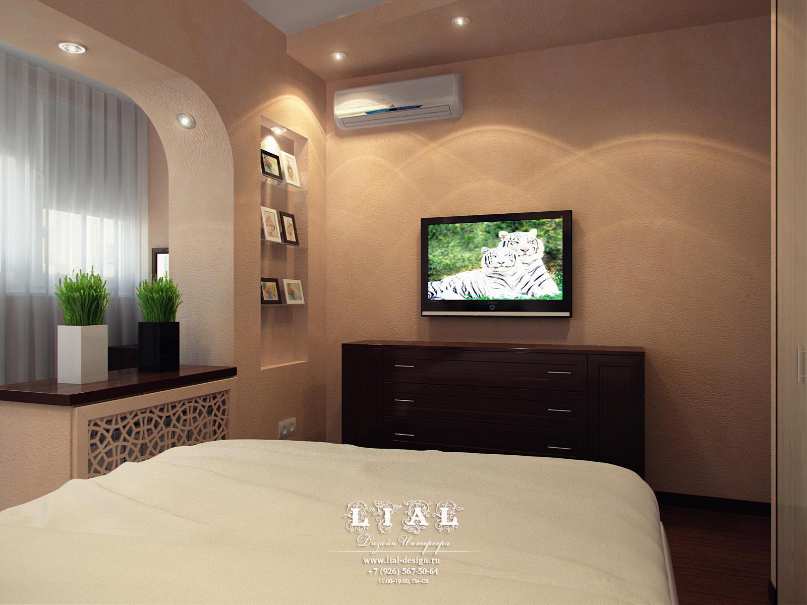 Дизайн спальни в квартире: фото и идеи 2016