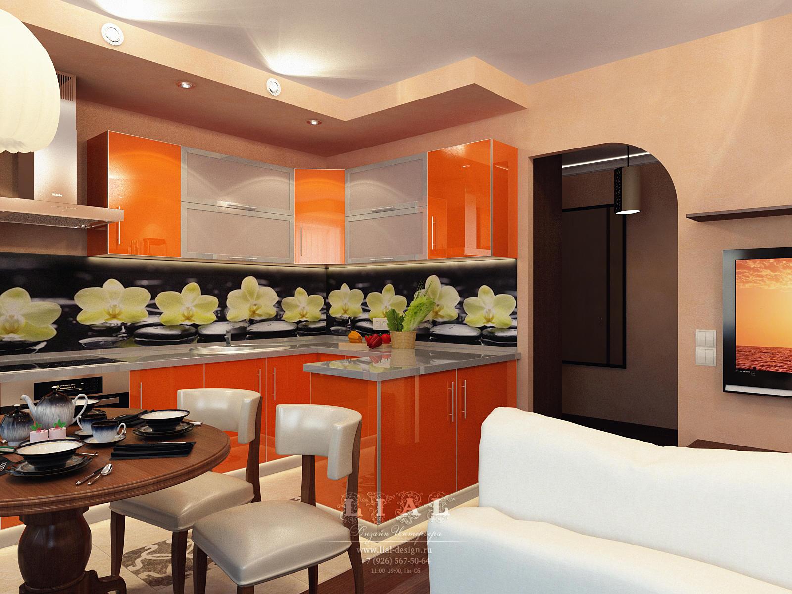 Дизайн кухни в квартире: фото 2016