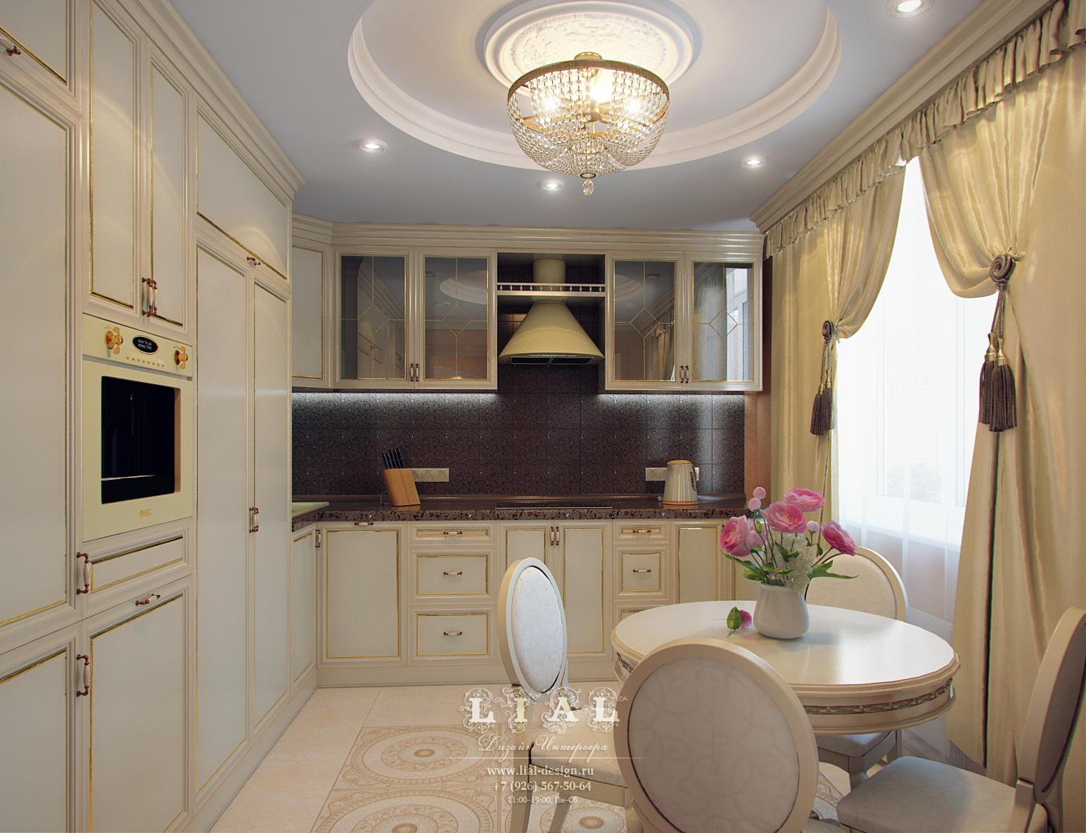 Дизайн интерьера светлой кухни: фото 2016