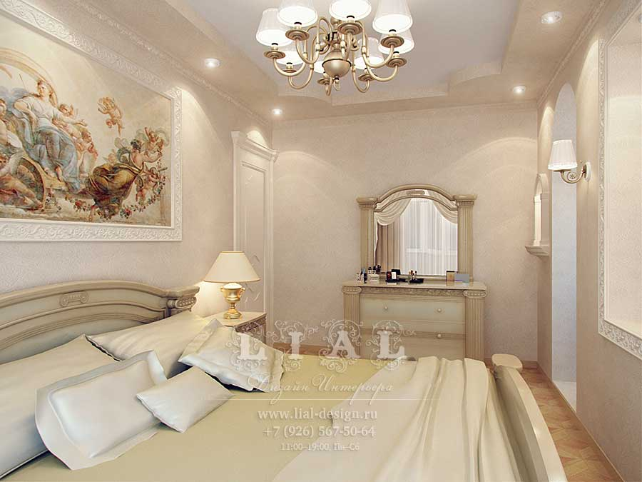 Дизайн белой спальни: фото 2016