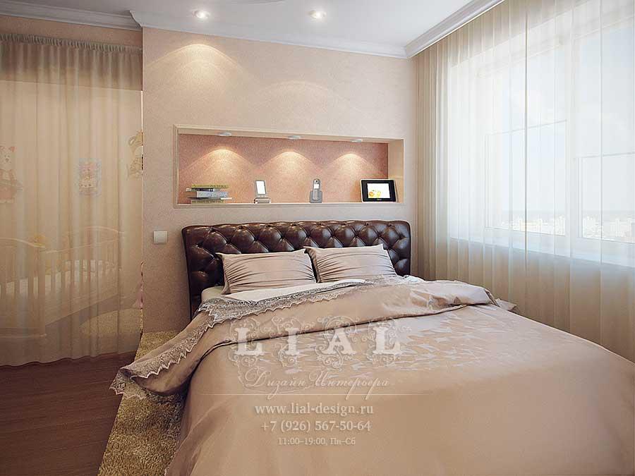 Современные идеи дизайна светлой спальни