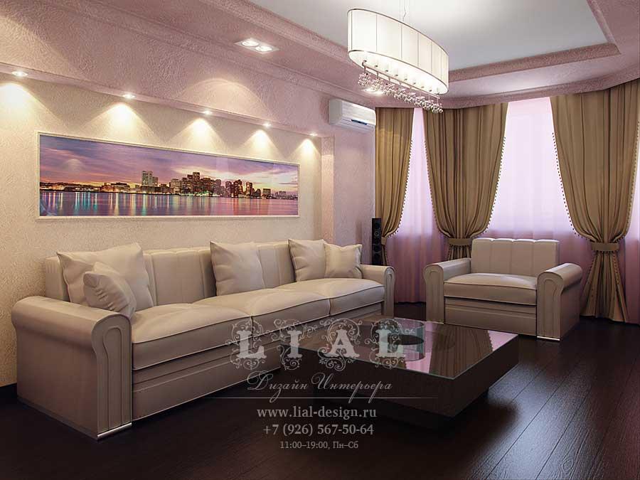 Дизайн современной гостиной: фото 2016