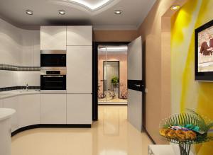 Стильный дизайн кухни в светлых тонах