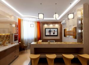 Современные идеи дизайна гостиной