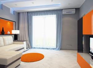 Дизайн стильной гостиной