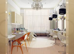 современный дизайн салона красоты