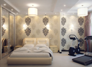 Современный дизайн спальни фото в светлых тонах