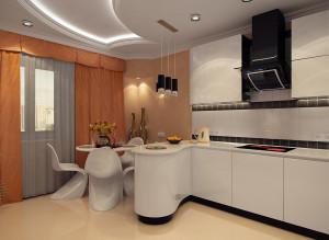 Современные идеи дизайна кухни в светлых тонах