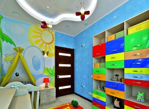 Дизайн стильной детской комнаты