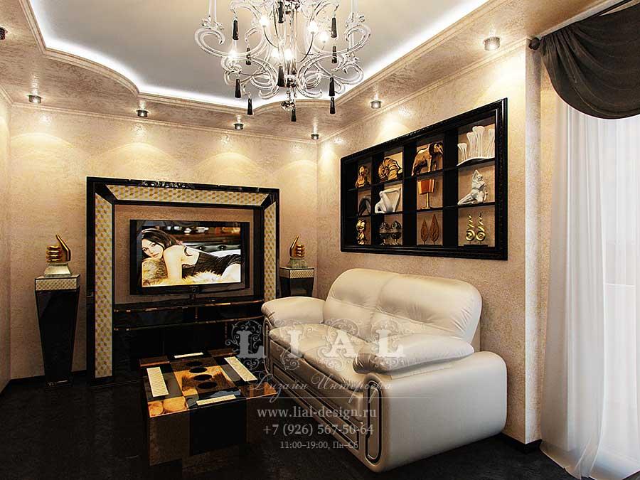 Дизайн кабинета в классическом стиле в частном доме