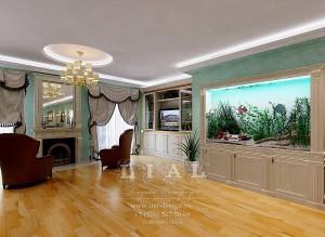 Дизайн гостиной