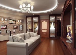 Дизайн стильной гостиной фото 2016