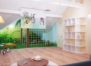 Дизайн детской игровой комнаты