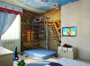 Идеи дизайна стильной детской комнаты