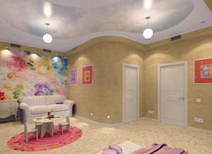Современные идеи дизайна детской комнаты для девочки фото 2016