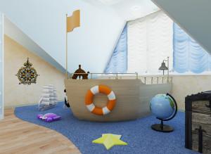 Фото идеи дизайна детской игровой комнаты